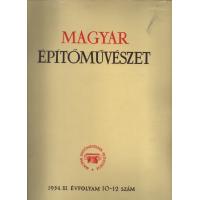 Magyar építőművészet 1955. IV. évfolyam 6 szám