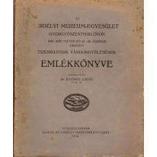 Az Erdélyi Múzeum-Egyesület Gyergyószentmiklóson tartott tizenhatodik vándorgyűlésének Emlékkönyve, 1939