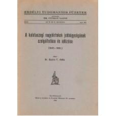 Dr. Szabó T. Attila: A kalotaszegi nagybirtok jobbágyságának szolgáltatása és adózása (1640-1690.)