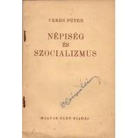 Veres Péter: Népiség és szocializmus