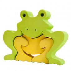 Fauna játékok -Állat figurák: béka