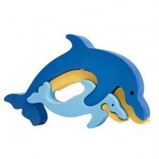 Fauna játékok- Állatcsaládok: delfin
