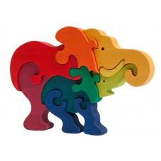 Fauna játékok- Állatcsaládok: elefánt