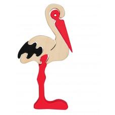 Fauna játékok- Állat figurák: gólya
