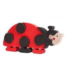 Fauna játékok- Állat figurák: katica