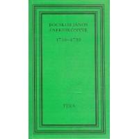Bocskor János énekeskönyve 1716–1739