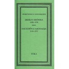 Hieronymus Ostermayer: Erdélyi krónika 1520–1571 – Dácia rövid krónikája 1143–1571