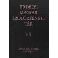 Erdélyi Magyar Szótörténeti Tár VII.
