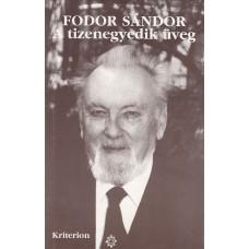 Fodor Sándor: Tizenegyedik üveg