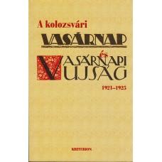 A kolozsvári Vasárnap és a Vasárnapi Újság (1921–1925)