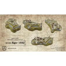 Magyar várak kicsiben - Eger 1552