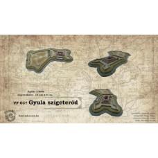 Magyar várak kicsiben -  Gyula-szigeterőd