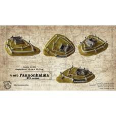 Magyar várak kicsiben -  Pannonhalma XVI. század
