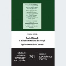Csata Adél: Benkő József, a historia literaria művelője
