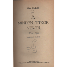 Ady Endre: A minden titkok versei