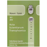 Fodorpataki László: Múzeumi Füzetek - Acta Scientiarium Transylvanica Biológia 2010-18-1