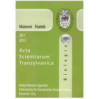 Fodorpataki László: Múzeumi Füzetek - Acta Scientiarium Transylvanica Biológia 2012 20-1