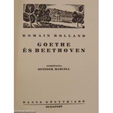 Romain Rolland: Goethe és Beethoven
