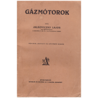 Jalsoviczky Lajos: Gázmótorok