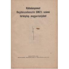 Hajdúszoboszló 5067/1. számú térképlap magyarázójából