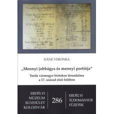 Dáné Veronka: Mennyi jobbágya és mennyi portiója