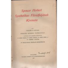 Collins F. Howard: Spencer Herbert synthetikus filozófiájának kivonata