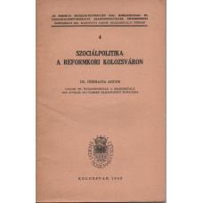 Dr. Csizmadia Andor: Szociálpolitika a Reformkori Kolozsváron