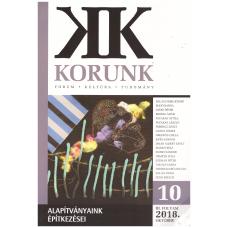 Korunk 2018/9