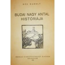 Kós Károly: Budai Nagy Antal históriája