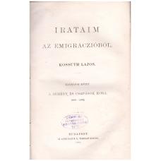 Kossuth Lajos: Irataim az emigráczióból III. kötet
