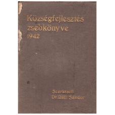 Dr. Ráth Sándor: Községfejlesztés zsebkönyve 1942