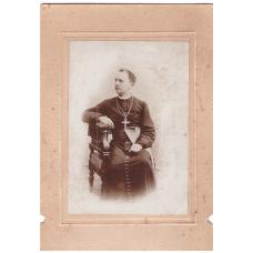 Gróf Majláth Gusztáv Károly erdélyi római katolikus püspök fiatalkori fényképe