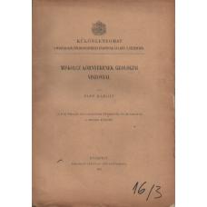 Papp Károly: Miskolcz környékének geologiai viszonyai