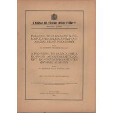 Dr. Kormos Tivadar: Pannonictis pliocaenica n.g.,n.sp., új mustelida a Magyarországi felső pliocénből
