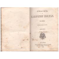 Jókai Mór: Kárpáthy Zoltán 1 kötet
