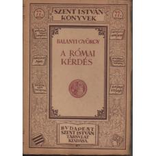 Balanyi György: A Római kérdés