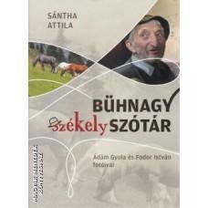 Sántha Attila: Bühnagy székely szótár