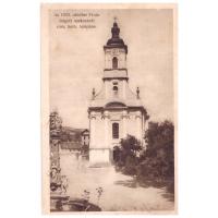 Az 1925. október 24-én leégett szekszárdi róm. kath. templom