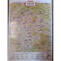 Erdővidék turisztikai térkép