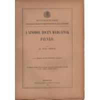 Dr. Vogl Viktor: A Vinodol Eocén Márgáinak Faunája