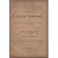 Prudniki Hantken Miksa: Az 1880. évi zágrábi földrengés